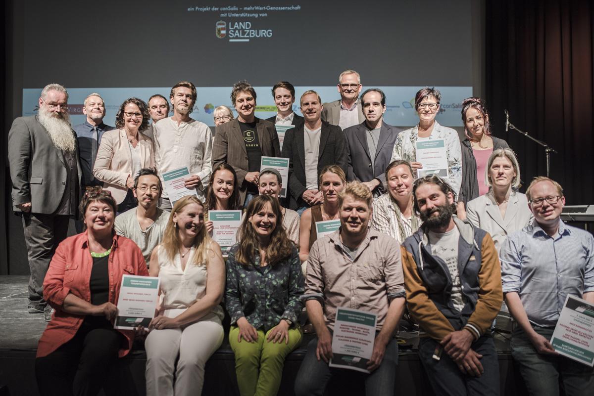 Zukunftslabor Salzburg-Wettbewerb – Prämierung der ausgewählten Projekteinreichungen